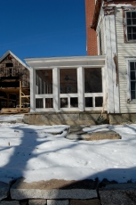 House nearly done. Barn not.