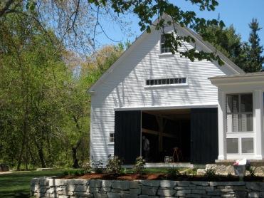 Barn restored!